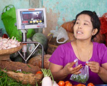 Local Lady, Burma